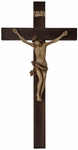 "33"" Crucifix with Hardwood Resin Corpus , WF31"