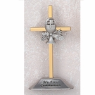 4'' Two Tone Standing Communion Cross 75-24