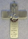 "5"" Pewter Confirmation Cross JC3213E"