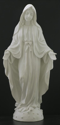 """8"""" Our Lady of Grace Statue SR 75742 W"""