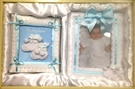 Blue Child of God Picture Frame Photo Album Gift Set