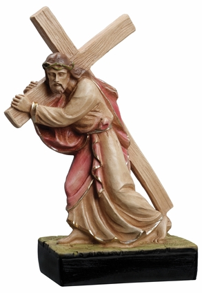 """Christ Carrying the Cross 10"""" Statue"""