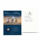 Christmas Blessings Nativity Greeting Cards: Pack of 10 CC-8100