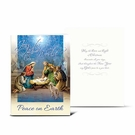 Christmas Nativity Peace on Earth Greeting Cards: Pack of 10 CC-8103