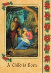 A Child is Born Christmas Cards--box of 24