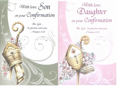 Confirmation Greeting Card for Son or Daughter