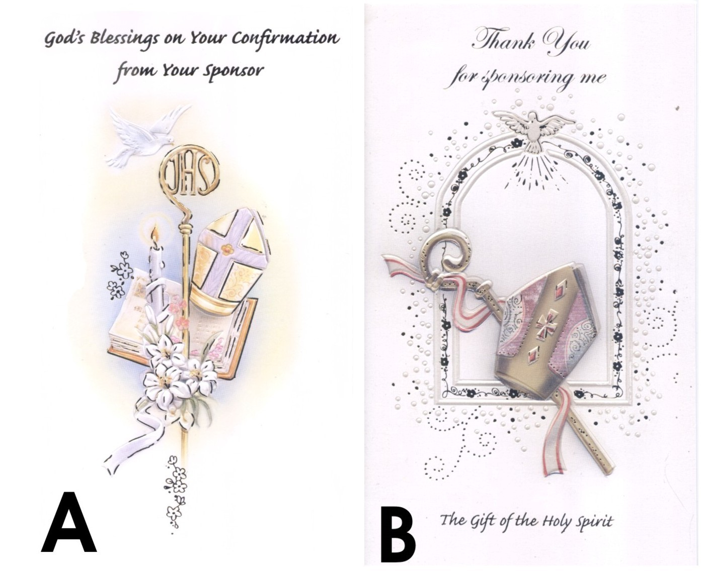 Confirmation Catholic Cards Confirmation Greeting Cards