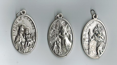 Doublesided Large Medal