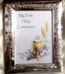 First Communion Silver Photo Frame 13919