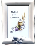 First Communion Silver Plated Photo Frame 13137