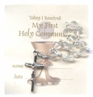 First Holy Communion One-Decade Bead Rosary Set