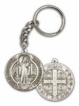Giant St Benedict Key Chain