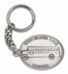 God Bless This Bus Driver Key Chain