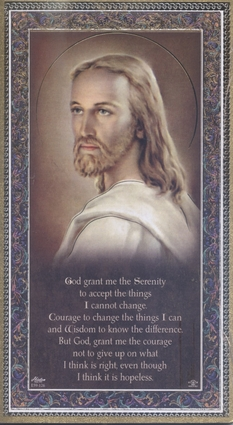 God Grant Me The Serenity Wall Plaque