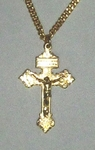 Gold Pardon Crucifix GS180024