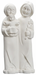 "Holy Family 8"" Resin Statue, SJHF"