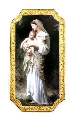 Innocence By  Bouguereau Florentine  Wall Plaque