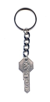 Key of Heaven Metal Keychain 4 Way