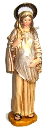 "Mary Mother-To-Be 11"" Statue"