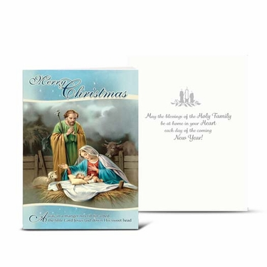 Merry Christmas Greeting Cards: Pack of 10 CC-8104