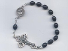 No Tangle Rosary Bracelet