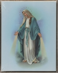 Our Lady of Grace Picture Wall Plaque