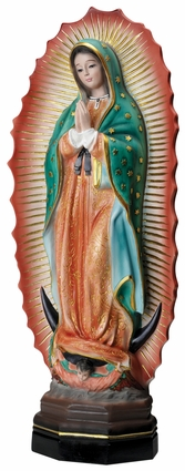 "Our Lady of Guadalupe 21"" Statue, OJ167"