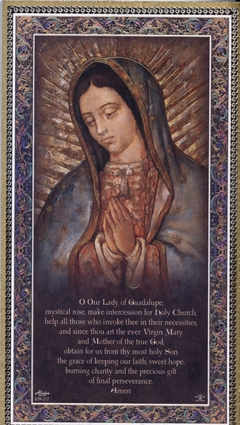 Our Lady Of Guadalupe Wall Plaque