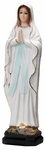 "Our Lady of Lourdes 12"" Onyx Statue, OJ151"