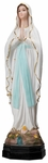 "Our Lady of Lourdes 17""� Onyx Statue, OJ101"