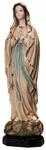 "Our Lady of Lourdes 19"" Resin Statue, OJ102B"