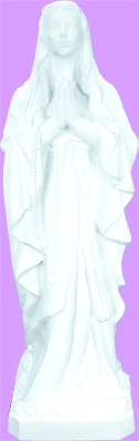 Our Lady Of Lourdes 24 Inch Outdoor Statue