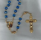 Our Lady Of Lourdes Rosary  (RA)