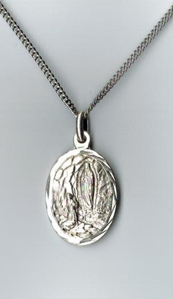 Our Lady of Lourdes Sterling Medal