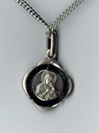 Our Lady of Perpetual Help Small Sterling Medal