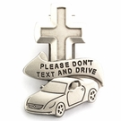 Please Don't Text and Drive Visor Clip VC-871