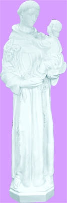 Saint Anthony and Child 24 Inch Statue