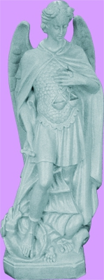 "Saint Michael The Archangel 24"" Outdoor Statue"