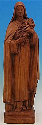 Saint Theresa 24 Inch Outdoor Statue