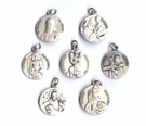 Small Patron Saint Medals