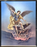 St. Michael Wall Plaque