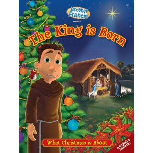 The King is Born What Christmas is About: Coloring and Activity Book