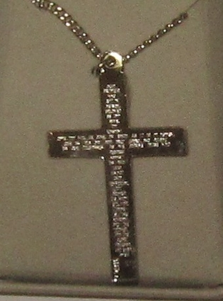 The Our Father Sterling Silver Crucifix SX7969SH