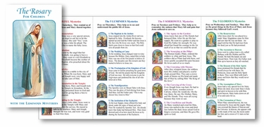 The Rosary for Children Pamphlet
