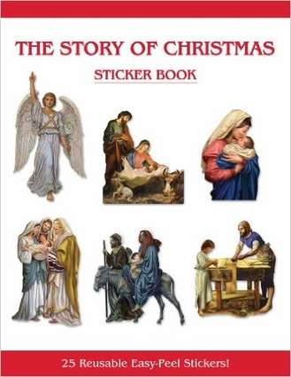 The Story of Christmas Sticker Book PS065