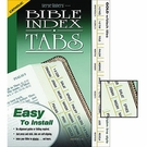Verse Finders Brand Bible Index Tabs, Slim Line Style, Gold with Black Titles