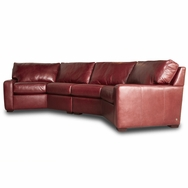 Carson Sectional<br />Choose fabric or leather