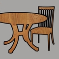 Dining Room Tables, Chairs, Cabinets