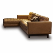Parker Sectional<br />Choose fabric or leather
