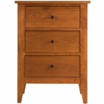 Vineyard II 3-Drawer Nightstand